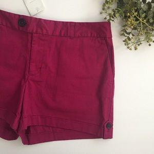 Banana Republic Purple Martin Fit Shorts- 10